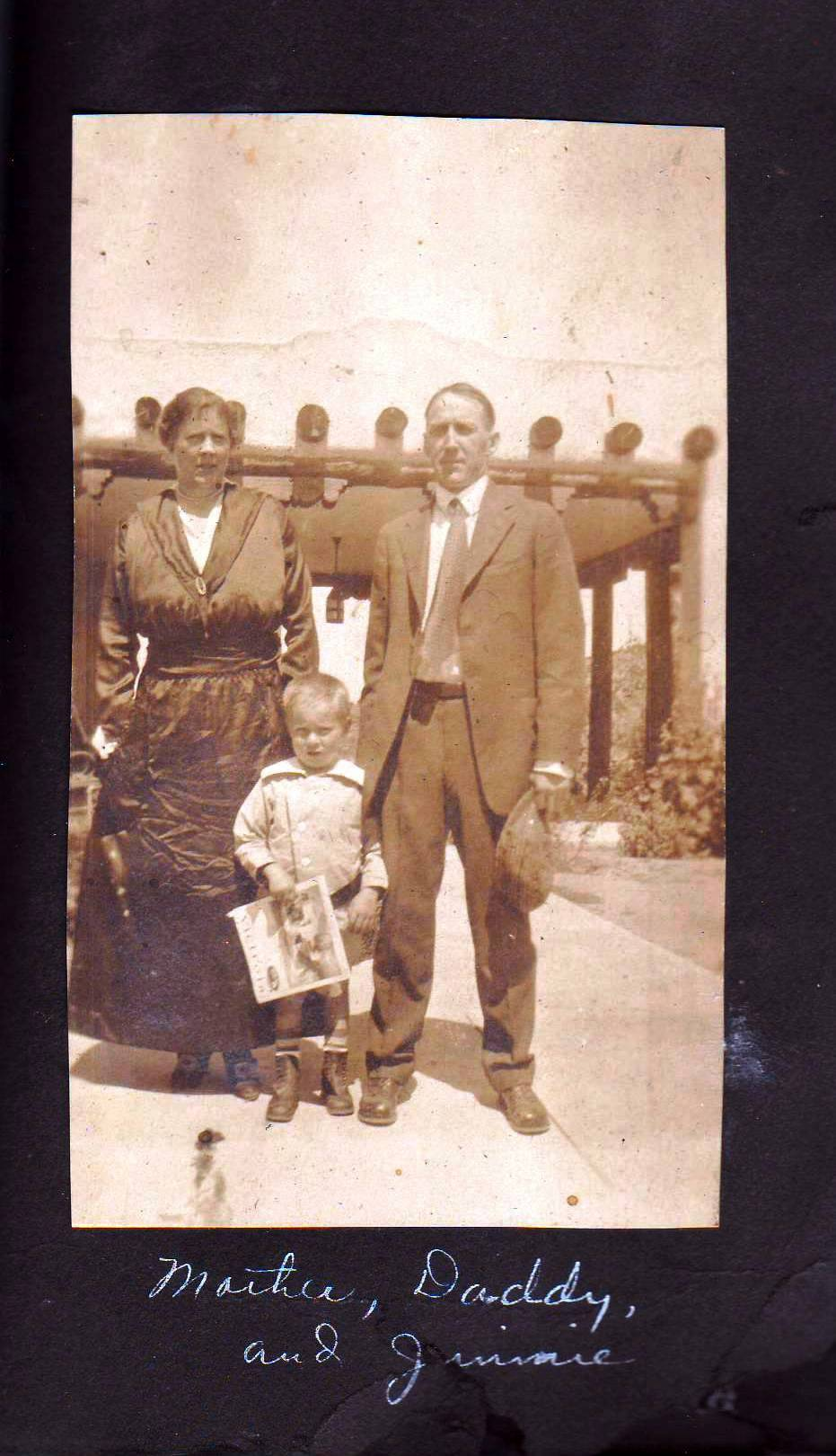 Julia, Jimmy and Jean Baptiste ,Jr.